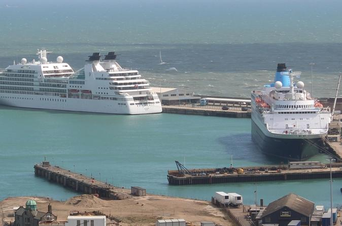 Private Minivan Arrival Transfer: Dover Cruise Terminal to London
