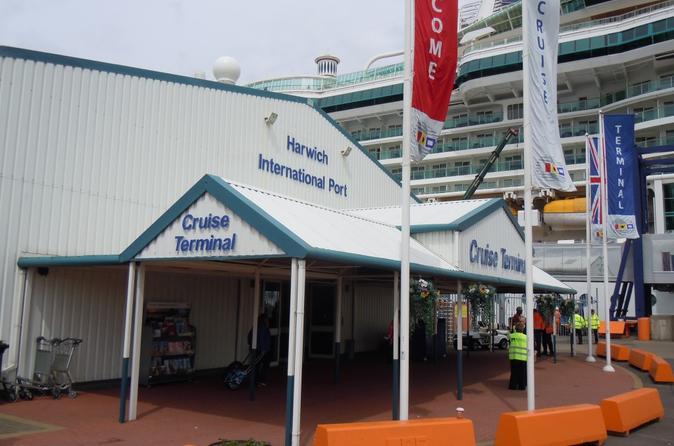 Private Minivan Departure Transfer: London To Harwich Cruise Terminal