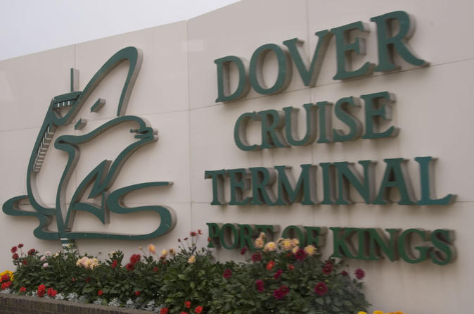 Private MPV Arrival Transfer: Dover Cruise Terminal to London
