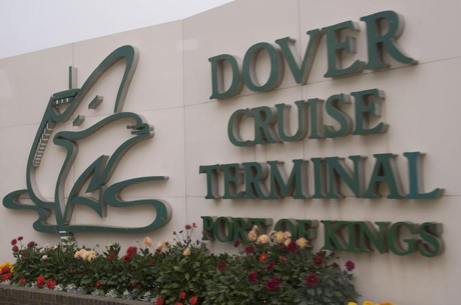Private MPV Arrival Transfer: Dover Cruise Terminal to London