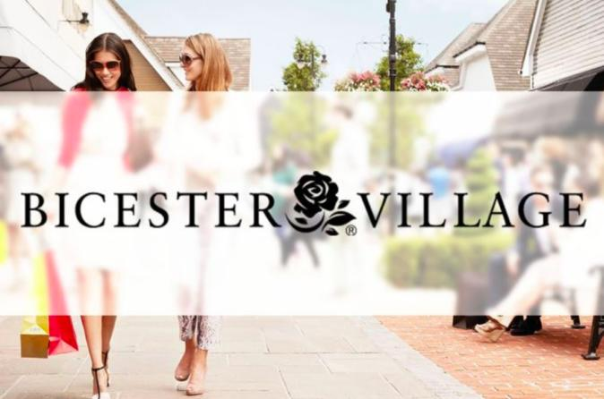 Private Round Trip Bicester Village Service from London
