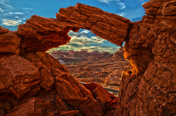 Valley of Fire State Park Private Limo-Bus Tour