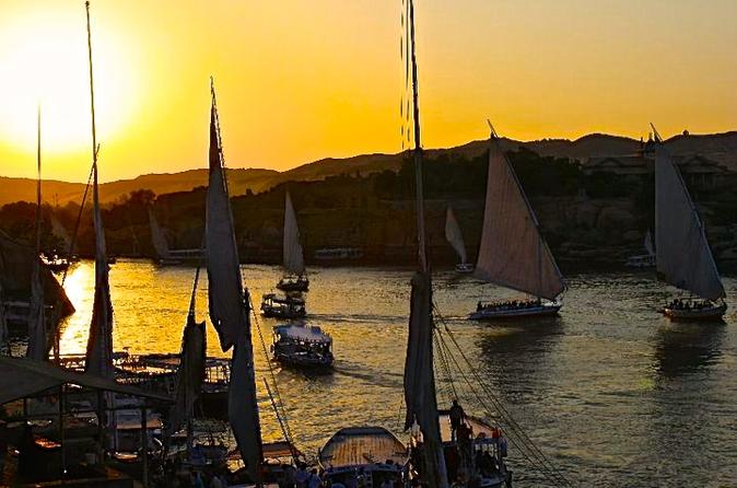 1 hour felucca sunset sail on the nile in cairo in cairo 242842
