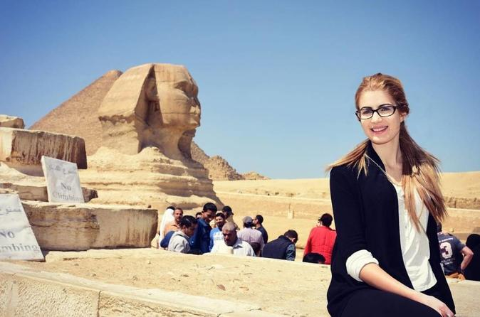 Day Tour to Giza Pyramids, Memphis, and Dahshur