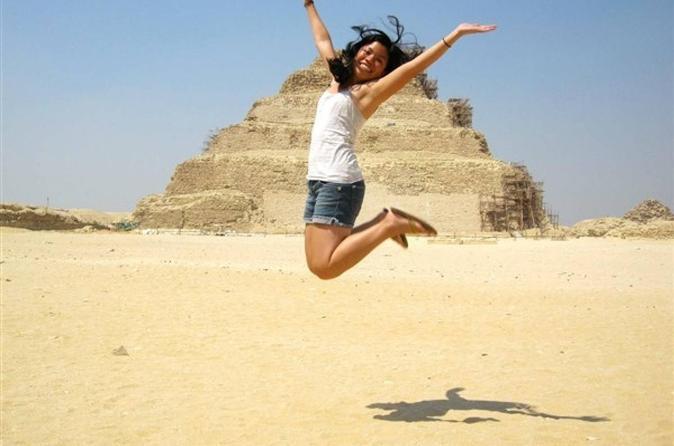Full Day Tour To GIZA PYRAMIDS MEMPHIS CITY AND SAKKARA PYRAMID - Cairo