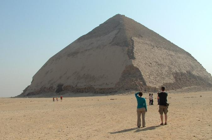 Half-Day Tour from Cairo: Dahshur Pyramids Sakkara and Memphis City