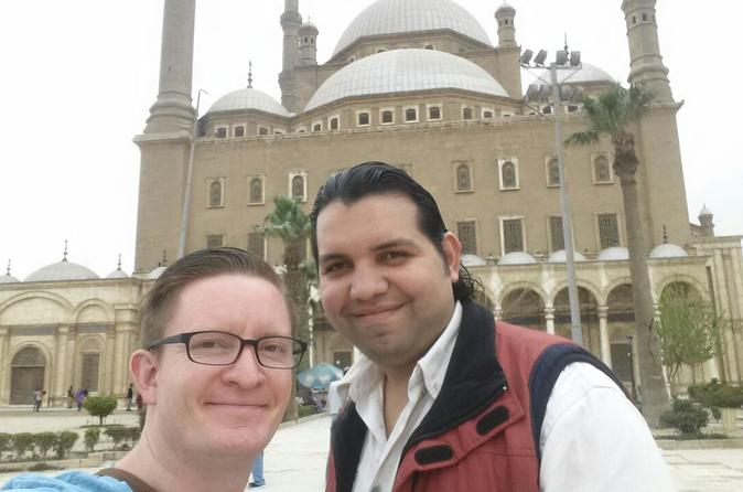 Highlights of Cairo Sightseeing Tour Visiting Egyptian Museum Citadel with Mohamed Ali Mosque and khan khalili Bazaar