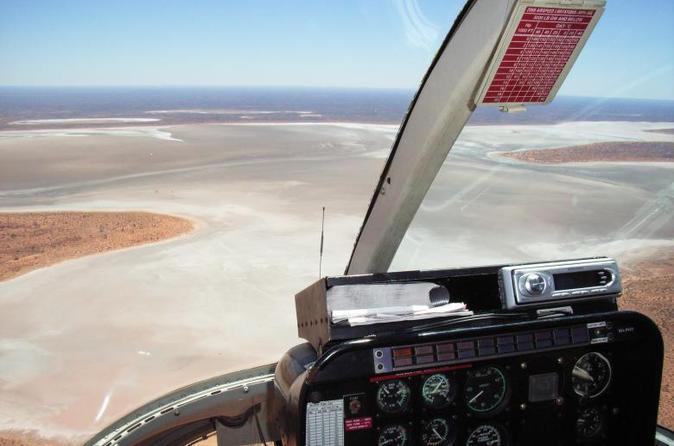 Uluru, Kata Tjuta and Lake Amadeus Helicopter Tour