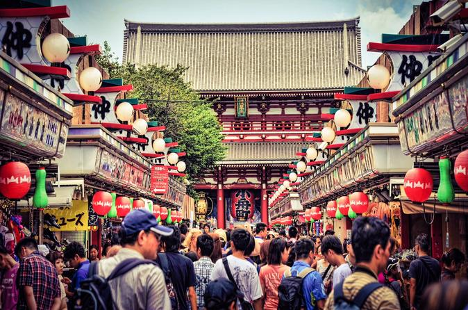 Hello Tokyo Walking Tour: Meiji Jingu, Senso-ji and Harajuku