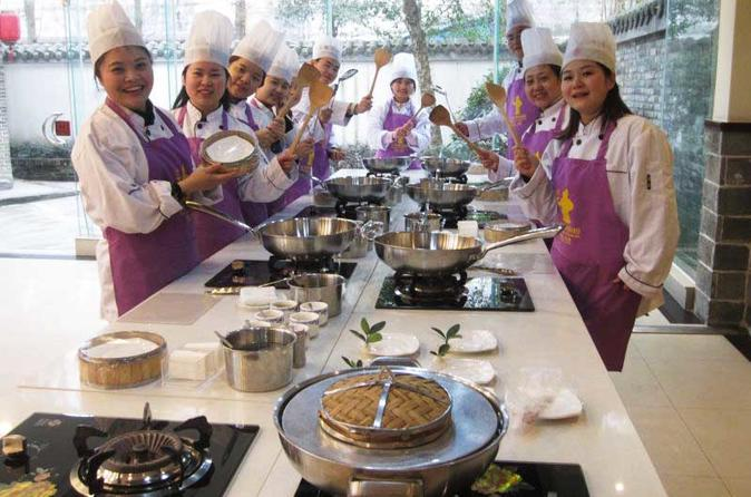 Sichuan Cuisine Cooking Experience Half-day Guided Tour From Chengdu
