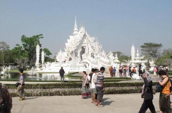 Viagem diurna em Chiang Rai saindo da cidade de Chiang Mai