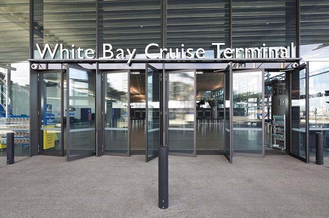 Transfer from White Bay Cruise Terminal to Sydney Airport