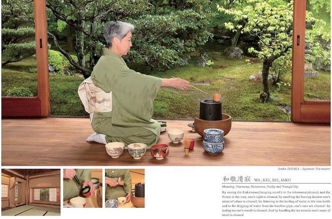 Tea ceremony Experience near by the world heritage