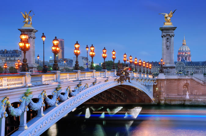 Paris Illuminations & Cruise Tour (3 Hours)