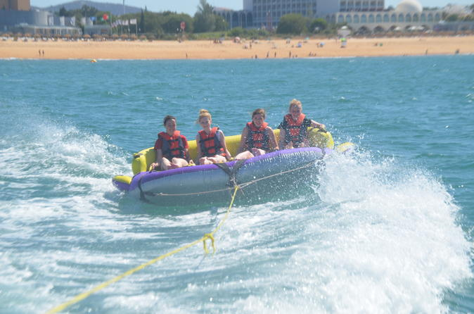 Crazy UFO Boat Ride from Vilamoura