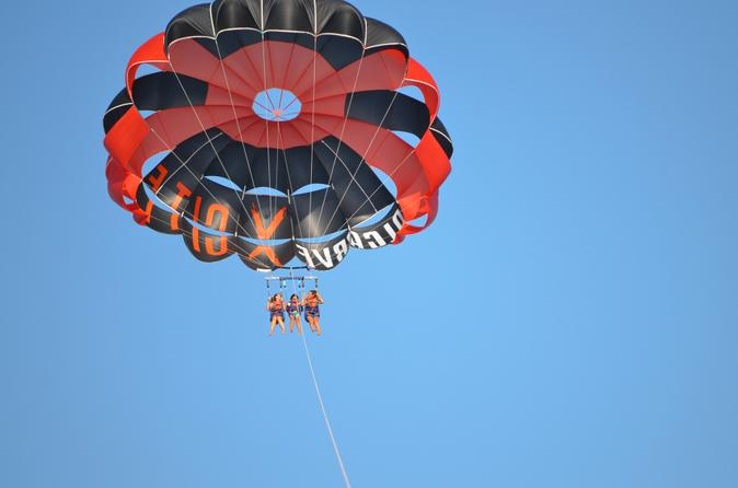 Parasailing from Albufeira