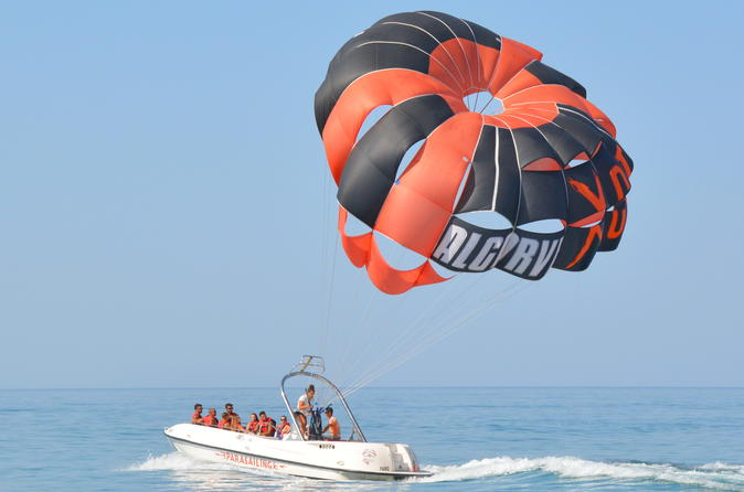 Parasailing from vilamoura in quarteira 453139