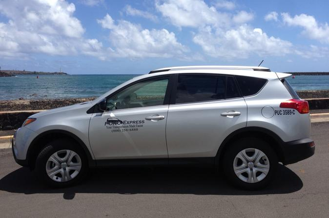 Private Departure Transfer: Kauai Hotels or Resorts to Kauai International Airport