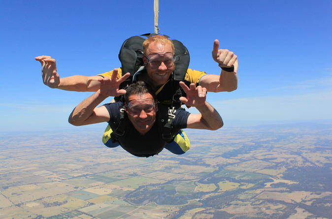 Nagambie 12,000ft or 15,000ft Tandem Skydive