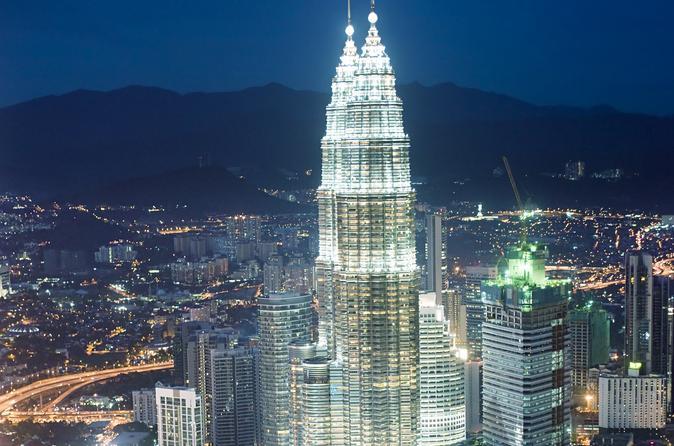 Evite as Filas: Ingresso para as torres gêmeas de Kuala Lumpur Petronas com transporte