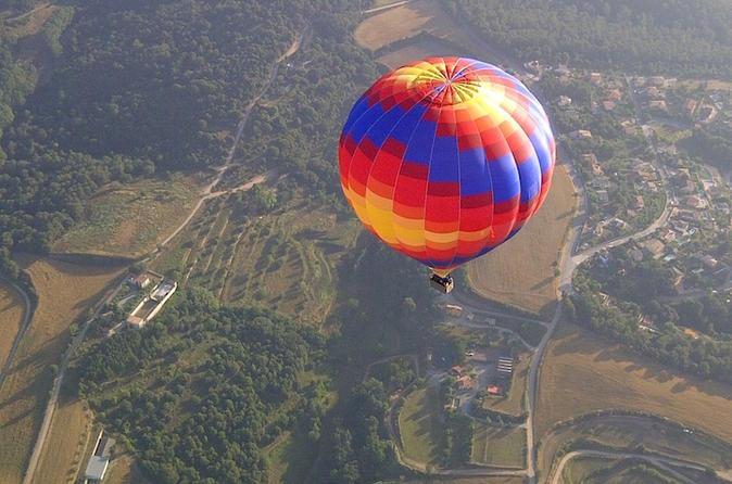 Voo de balão de ar quente em Barcelona