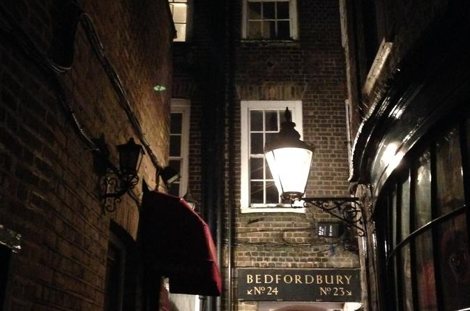London Ghost and Infamous Murders Walking Tour