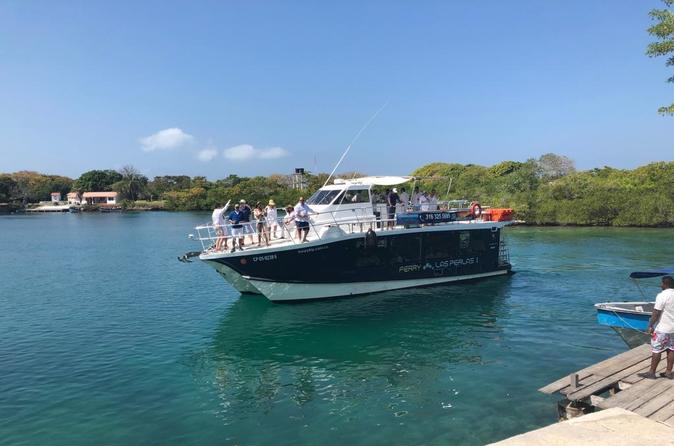 CATAMARAN RENTAL FOR EXCURSION TO ISLANDS OF THE ROSARY