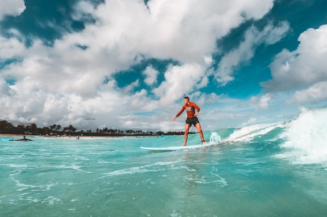 Macao Beach Surf Group Lessons - Punta Cana