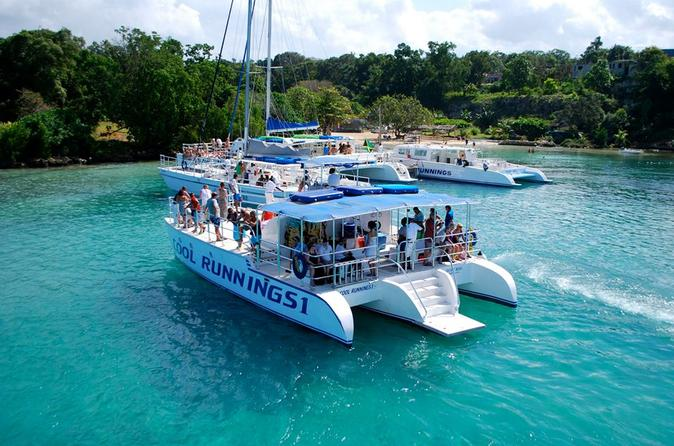 Jamaica dunn s river falls party cruise with snorkeling in ocho rios 198856