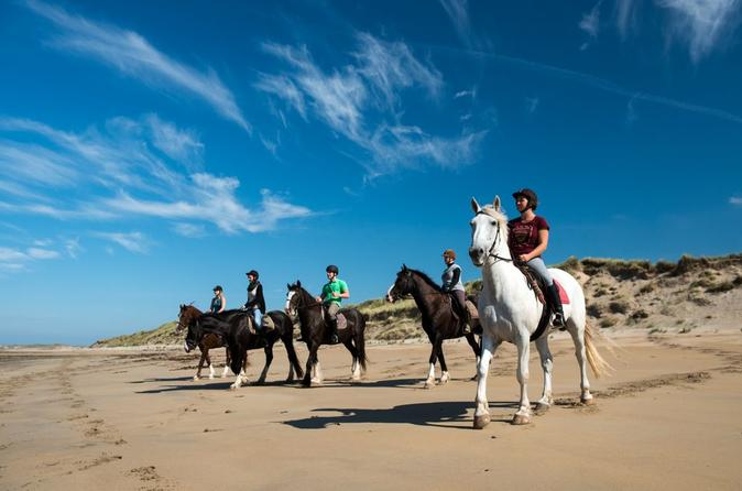 Half day tour connemara wild atlantic way guided beach horseback ride in cleggan 333635