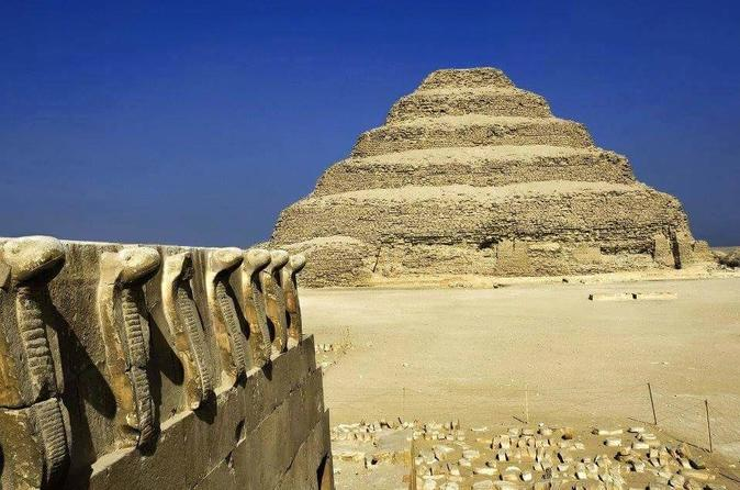 Full Day Tour of Memphis,Saqqara, and Dahshure Including Lunch