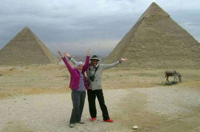 Full Day Tour of Memphis, Saqqara, and Giza Pyramids Including Lunch