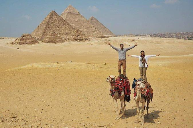 Half-Day Tour of the Giza Pyramids and Sphinx with Private Guide from Cairo
