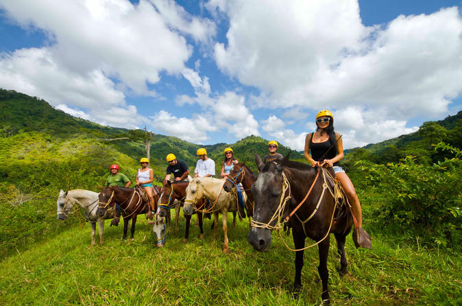 Horseback river tour in jaco in jaco 225806