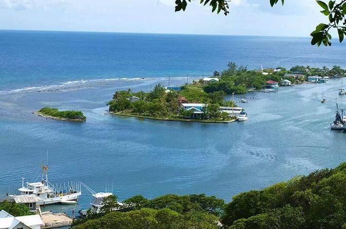 Roatan Private Tour: Shopping, Sightseeing and Beach Tour