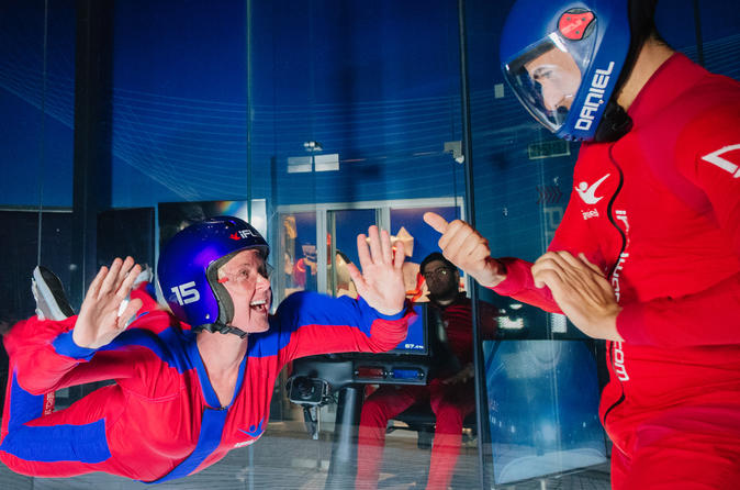 Chicago-Naperville Indoor Skydiving Experience