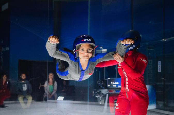 Houston Woodlands Indoor Skydiving Experience