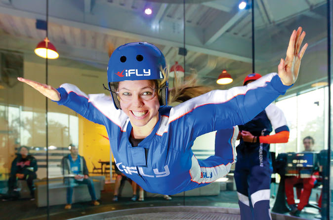 Montgomery Indoor Skydiving Experience