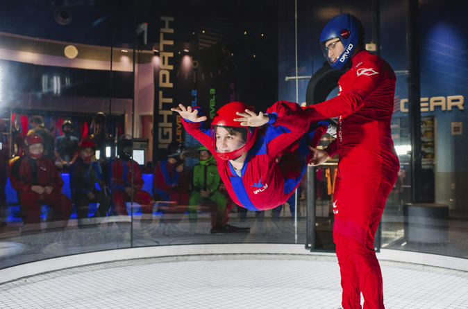 Portland Indoor Skydiving Experience