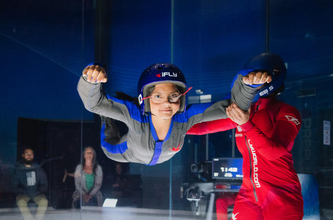 San Francisco Bay Indoor Skydiving Experience