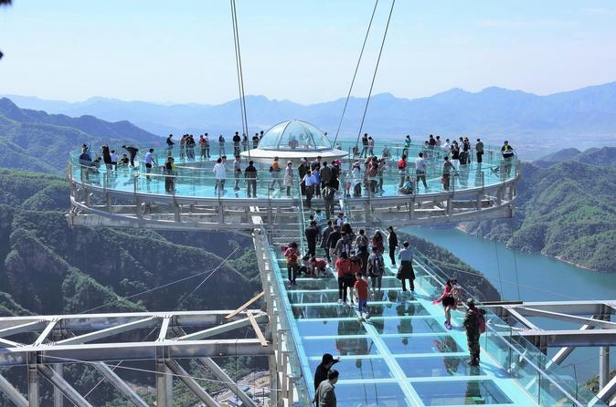 Beijing Private Tour to Shilinxia Cantilever Viewing Platform with Cable Car ride