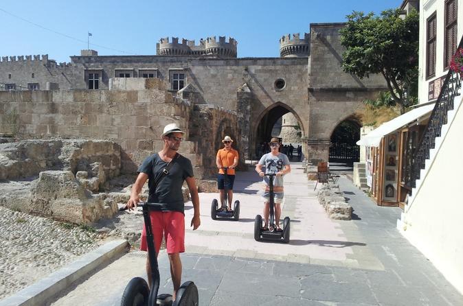 Medieval segway tour in rhodes in rhodes 236319