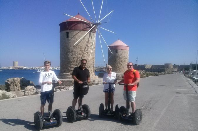 Through the times segway tour in rhodes in rhodes 236322