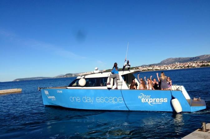 Blue Cave and Hvar Archipelago Day Trip from Omis