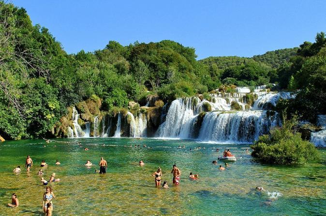 Day Trip to Krka Waterfalls and Sibenik Town