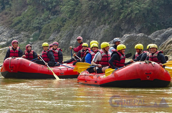 Day Tour River Rafting in Trishuli River