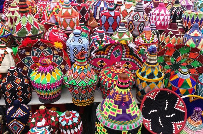 Excursion privée shopping dans les souks de Marrakech