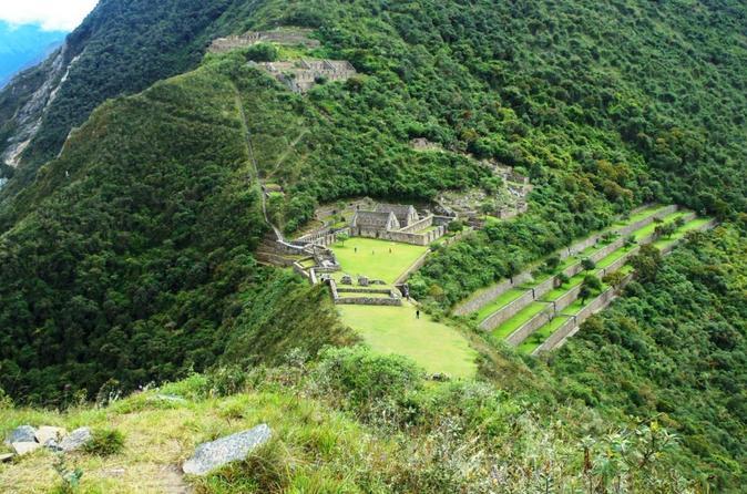 Caminhada de 8 dias em Choquequirao para Machu Picchu