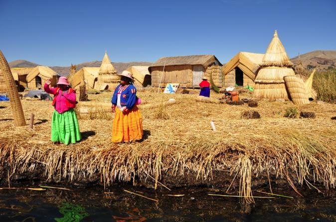 Overnight Amantani Island Homestay Experience from Puno