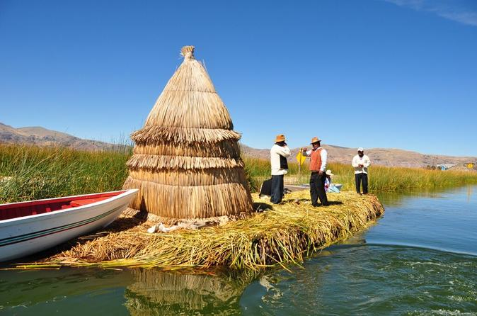 Uros kayaking and taquile island day tour in puno 216665